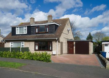 Thumbnail 3 bed semi-detached house for sale in Orchard Road, Eaton Ford, St. Neots