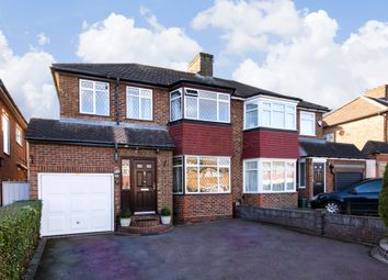 Thumbnail 4 bed semi-detached house for sale in Clifton Gardens, Oakwood