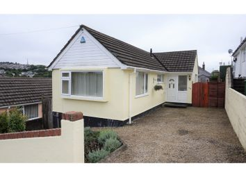 Thumbnail 2 bed detached bungalow for sale in Reddington Road, Plymouth