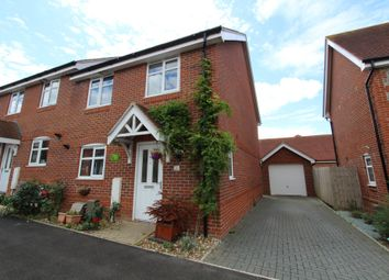Thumbnail 4 bed semi-detached house to rent in Beckless Avenue, Clanfield, Waterlooville
