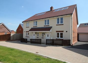 Thumbnail 3 bed semi-detached house for sale in Baker Close, Botley, Southampton