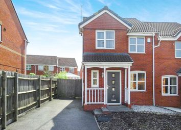 Thumbnail 3 bed semi-detached house for sale in The Pastures, Oadby, Leicester
