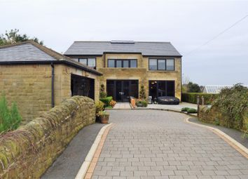 Thumbnail 4 bed detached house for sale in Wade House Avenue, Shelf, Halifax