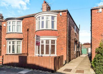 Thumbnail 2 bed semi-detached house for sale in Marion Avenue, Middlesbrough