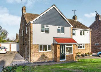 Thumbnail 4 bed semi-detached house for sale in Holmoaks, Rainham, Gillingham