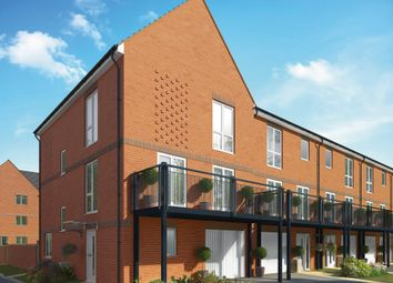 "Thumbnail 4 bed terraced house for sale in ""The Elm"" at Connolly Way, Chichester"