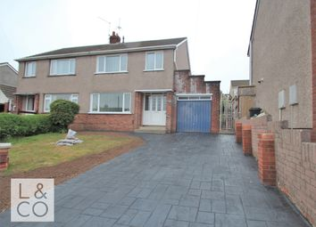 Thumbnail 3 bed semi-detached house to rent in 42 Penylan Close, Bassaleg, Newport