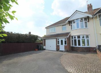 Thumbnail 4 bed semi-detached house to rent in Downs View Road, Swindon, Wiltshire