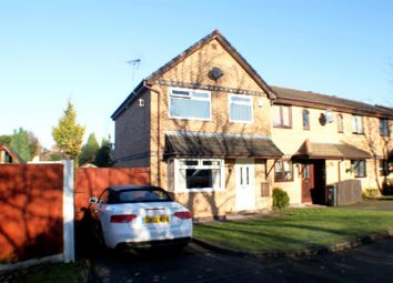 Thumbnail 3 bed end terrace house for sale in Caldon Close, Eccles, Manchester