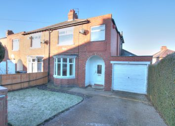 Thumbnail 3 bed semi-detached house for sale in Ormonde Avenue, Denton Burn, Newcastle Upon Tyne