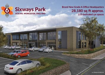 Thumbnail Office to let in Sixways Park, Jct6 M5, Worcester