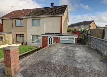 Thumbnail 2 bed semi-detached house to rent in Longview Road, Clase, Swansea, City And County Of Swansea.