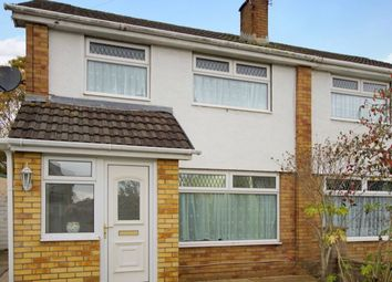 Thumbnail 3 bed semi-detached house for sale in Westminster Way, Cefn Glas, Bridgend