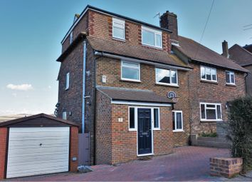 Thumbnail 5 bed semi-detached house for sale in Westfield Crescent, Brighton