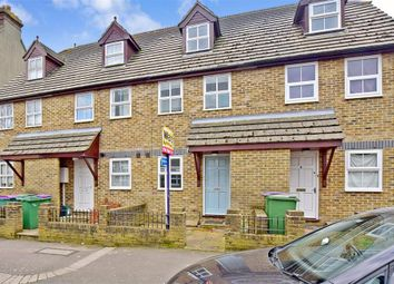 Thumbnail 3 bed terraced house for sale in Ingles Road, Folkestone, Kent