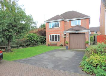 Thumbnail 4 bed detached house for sale in Challum Drive, Chadderton, Oldham