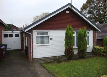 Thumbnail 2 bed detached bungalow to rent in Hillway Close, Rugeley