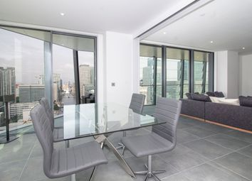 Thumbnail 3 bed flat for sale in 3 Dollar Bay Place, Canary Wharf