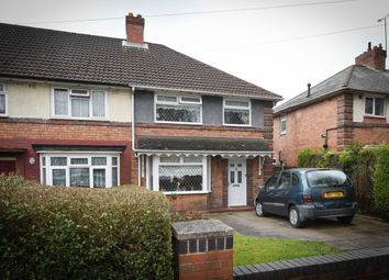 Thumbnail 3 bedroom end terrace house for sale in Kings Road, Kingstanding, Birmingham