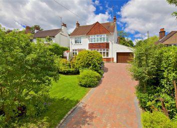 Thumbnail 4 bed detached house for sale in Aldenham Avenue, Radlett