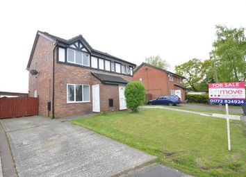 Thumbnail 2 bedroom semi-detached house for sale in Parkside, Lea, Preston, Lancashire