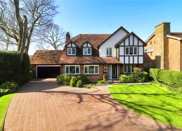 Thumbnail 5 bed detached house for sale in Garrow, New Barn, Longfield, Kent