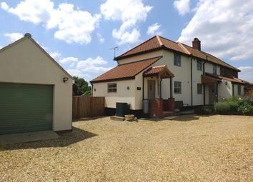 Thumbnail 3 bedroom semi-detached house for sale in Plumstead Road, Edgefield, Melton Constable