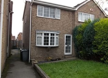 Thumbnail 2 bed end terrace house to rent in Warren House Close, Bramley, Rotherham