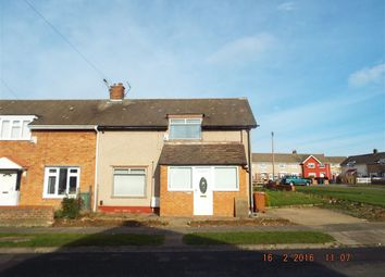 Thumbnail 2 bed end terrace house for sale in Laird Road, Hartlepool