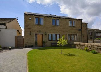 Thumbnail 4 bed semi-detached house for sale in 23, Midway, South Crosland