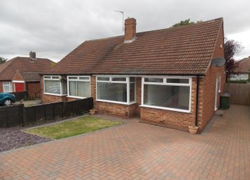 Thumbnail 2 bed semi-detached bungalow for sale in Farndale Road, Nunthorpe, Middlesbrough