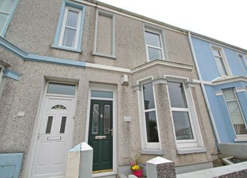 Thumbnail 2 bed terraced house to rent in Weston Park Road, Peverell, Plymouth