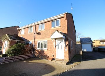 Thumbnail 3 bed semi-detached house for sale in Davenport Close, Upton, Poole