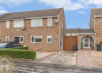 Thumbnail 3 bed semi-detached house for sale in Coleridge Close, Royal Wootton Bassett, Swindon