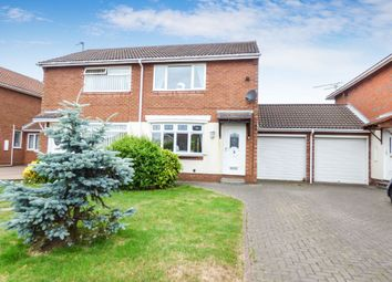 Thumbnail Semi-detached house to rent in Hedgerow Mews, Ashington