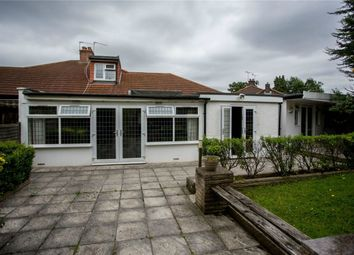 Thumbnail 3 bed semi-detached bungalow for sale in Tudor Close, London