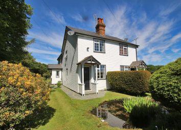 Thumbnail Semi-detached house for sale in Singles Cross Cottages, Singles Cross Lane, Knockholt, Sevenoaks