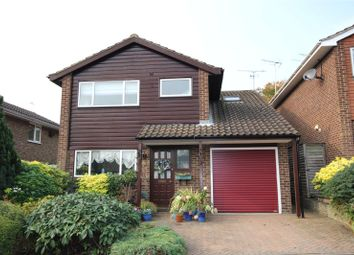 Thumbnail 4 bed detached house for sale in Newton Close, Harpenden, Hertfordshire