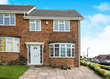 Thumbnail 3 bedroom end terrace house for sale in Links Drive, Bexhill-On-Sea