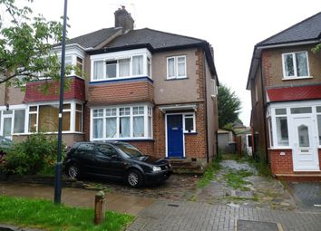 Thumbnail 3 bedroom semi-detached house to rent in Montpelier Rise, Wembley