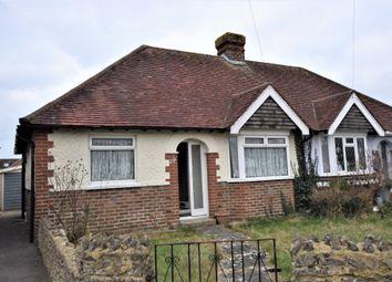 Thumbnail 2 bed semi-detached bungalow for sale in Vincent Grove, Portchester, Fareham