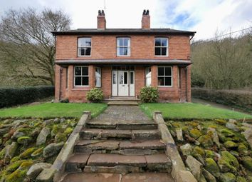 Thumbnail 3 bed detached house for sale in Wrexham Road, Bickerton, Malpas