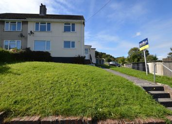 Thumbnail 2 bed flat to rent in South Hill, Hooe, Plymouth, Devon