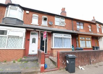 Thumbnail 3 bed terraced house for sale in Grasmere Road, Handsworth