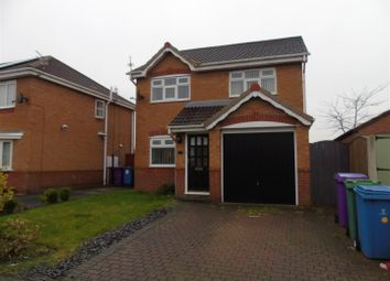 Thumbnail 3 bed detached house to rent in Twigden Close, Liverpool
