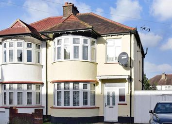 Thumbnail 3 bed semi-detached house for sale in East Avenue, Wallington, Surrey