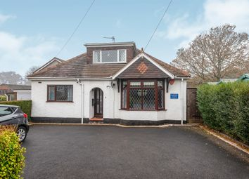 Thumbnail 3 bed detached bungalow for sale in Hill Street, Hednesford, Cannock