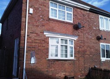 Thumbnail 2 bed semi-detached house to rent in A J Cook Terrace, Shotton Colliery, Durham