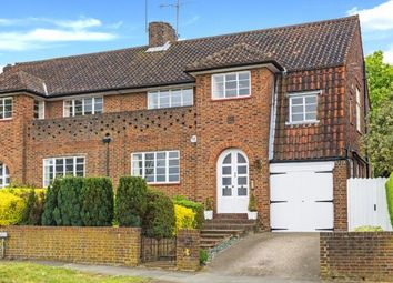 Thumbnail 4 bed semi-detached house for sale in Deansway, Hampstead Garden Suburb, London