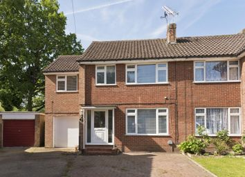 Thumbnail 4 bed semi-detached house to rent in Fullerton Way, Byfleet